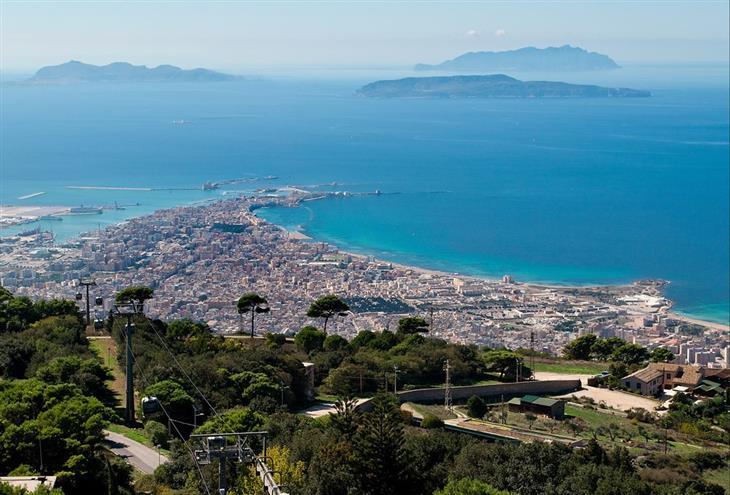 המחוזות המומלצים ביותר באיטליה: נוף בסיציליה