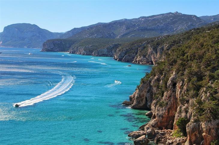 המחוזות המומלצים ביותר באיטליה: הים של סרדיניה
