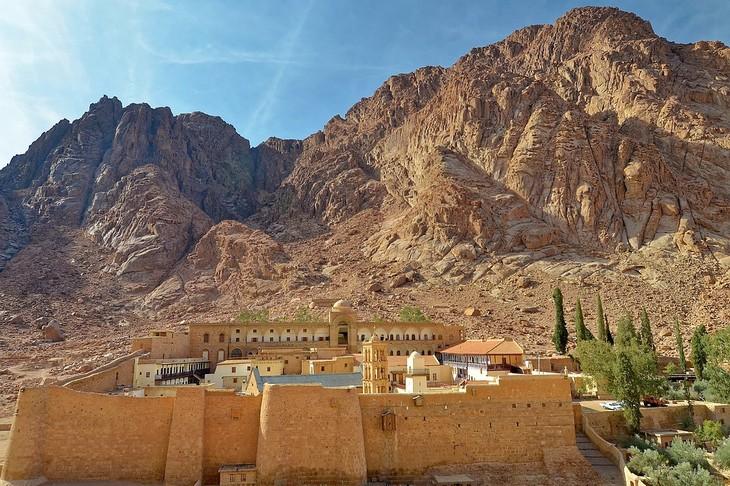 תמונות מסיני: מנזר סנטה קתרינה