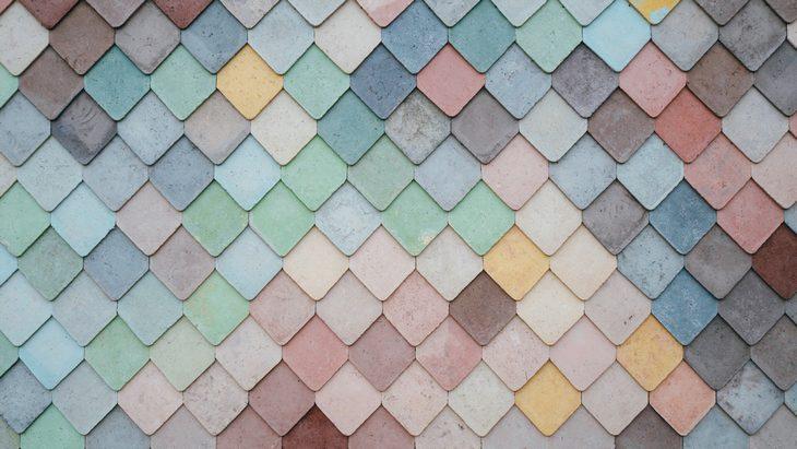 רקעים למחשב ולסמארטפון: רעפים צבעוניים