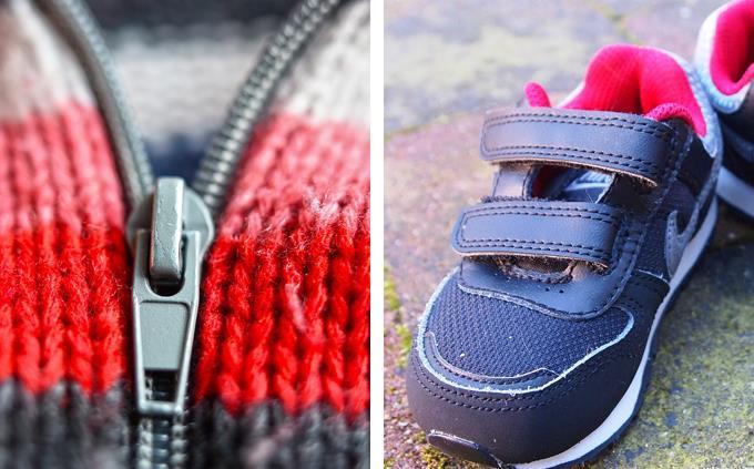 טריוויה: רוכסן ונעליים עם וולקרו