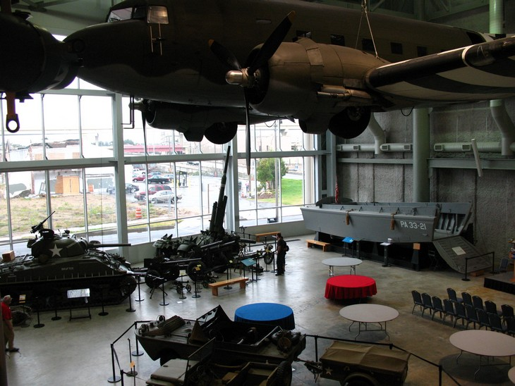 אתרים בניו אורלינס: המוזיאון הלאומי למלחמת העולם השנייה