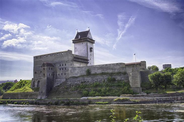 אטרקציות באסטוניה: טירת הרמן
