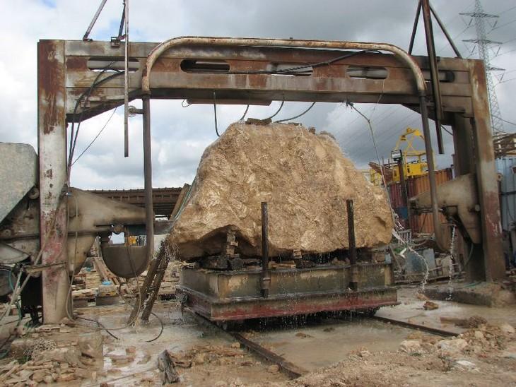 מידע על אבן כורכר: מחצבה