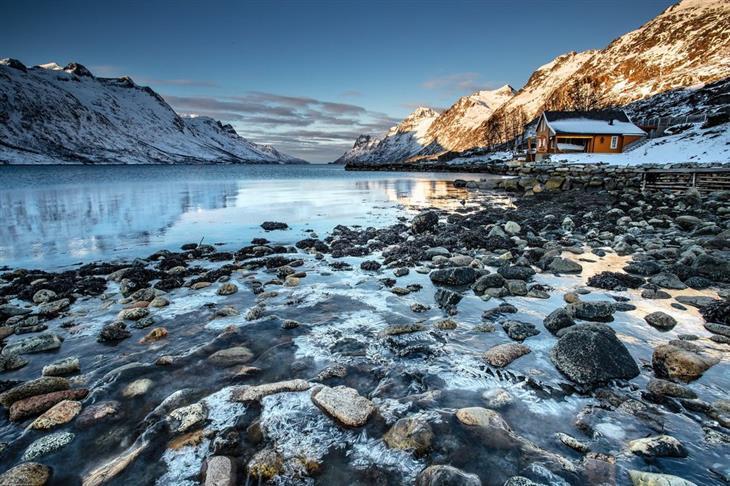 נורווגיה לפי אזורים: נוף טבעי בצפון נורווגיה