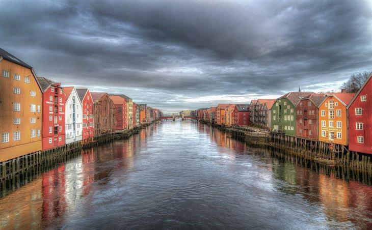 נורווגיה לפי אזורים: תעלה בטרונדהיים