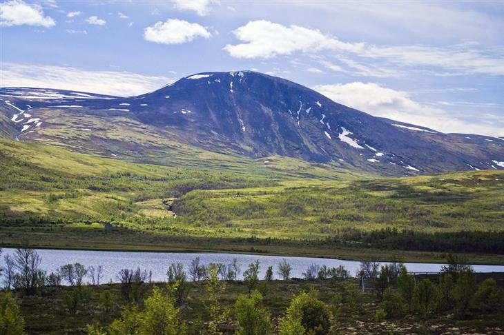 נורווגיה לפי אזורים: נוף טבעי בטרנדלג