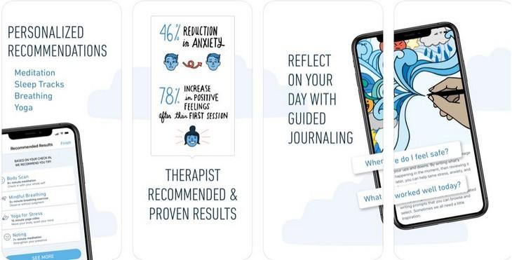 אפליקציות להתמודדות עם לחץ וחרדה: אפליקציית Stop, Breathe & Think