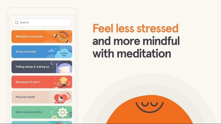 אפליקציות להתמודדות עם לחץ וחרדה: אפליקציית Headspace