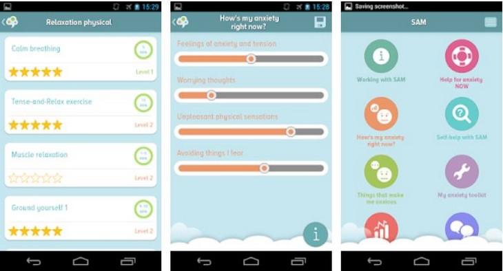 אפליקציות להתמודדות עם לחץ וחרדה: אפליקציית Self-help Anxiety Management