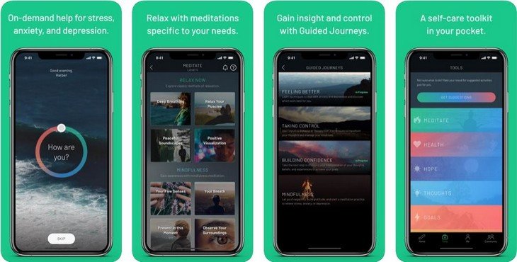אפליקציות להתמודדות עם לחץ וחרדה: אפליקציית Sanvello
