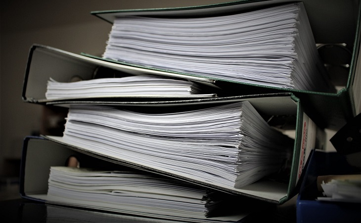 וועדות רפואיות: קלסרי מסמכים