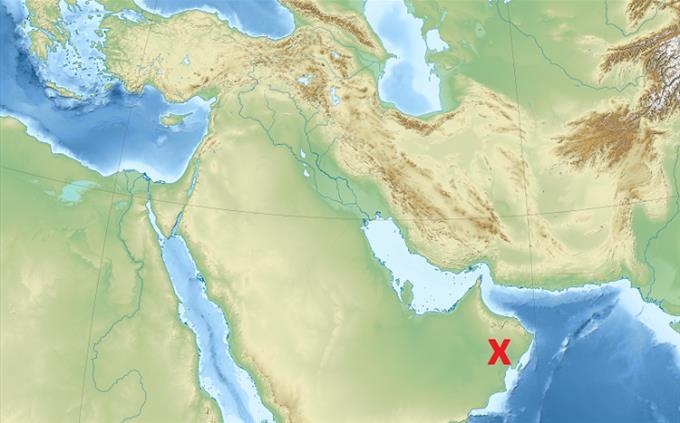 טריוויה על המזרח התיכון: מפה