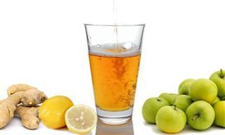 אוסף משקאות בריאות: משקה 3 המיצים לניקוי רעלים