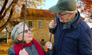 אוסף כתבות זוגיות: זוג זקנים על נדנדה