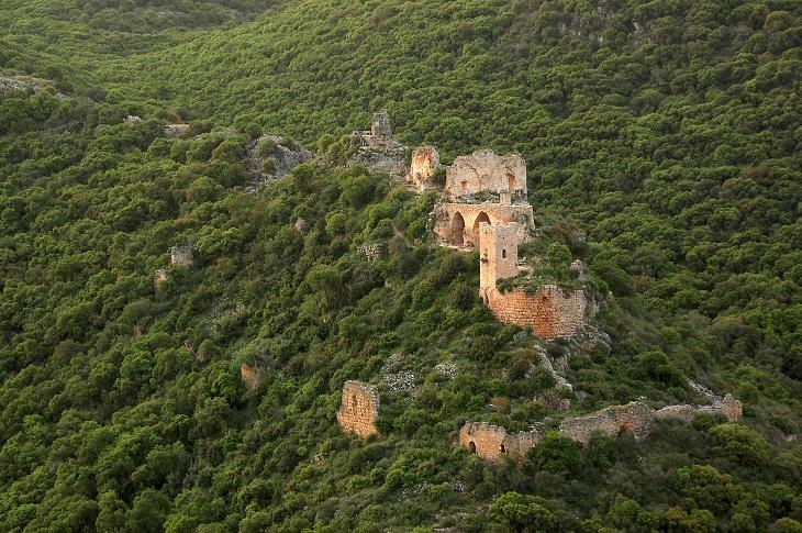 מסלולי טיול בגליל המערבי: מבצר המונפורט