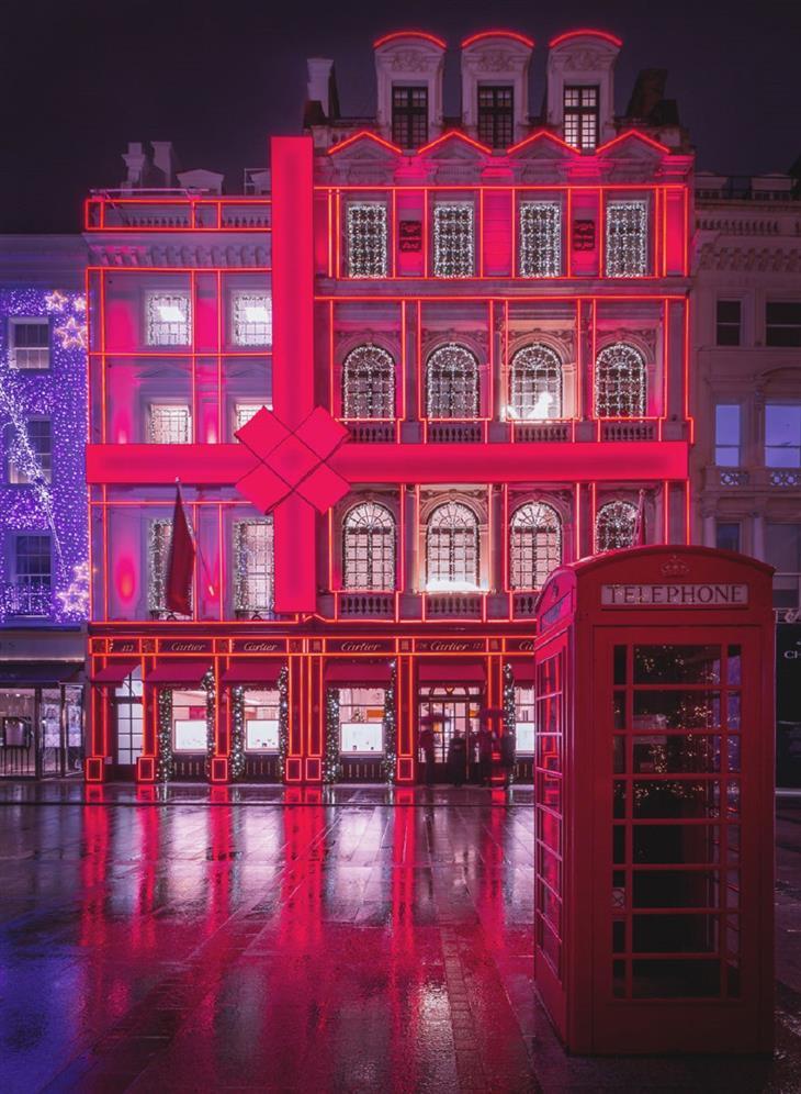 לונדון בחג המולד: רחוב בונד החדש