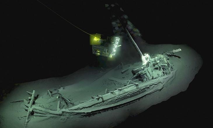 תגליות ארכיאולוגיות: ספינה טרופה