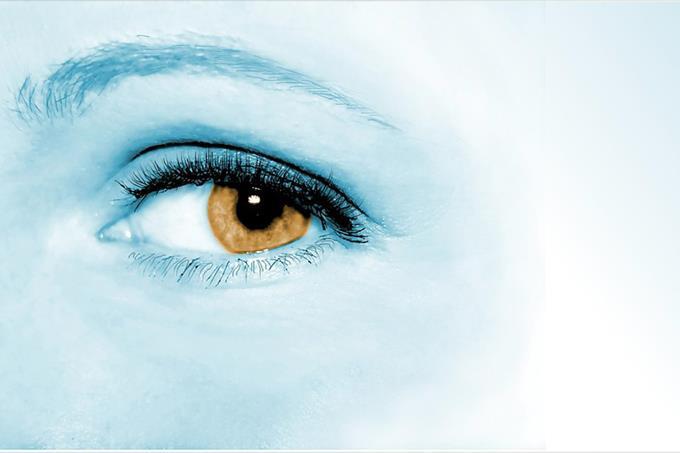 בחן את עצמך: עין מסתכלת לצד ימין