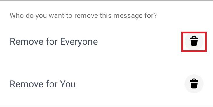 כך תמחקו הודעות בפייסבוק מסנג'ר: בחירה באפשרות מחיקה אצל כולם או מחיקה רק אצל המתשמש