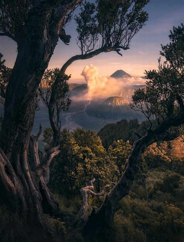 נופים בלתי נשכחים: הפארק הלאומי ברומו טנגר סמרו, אינדונזיה