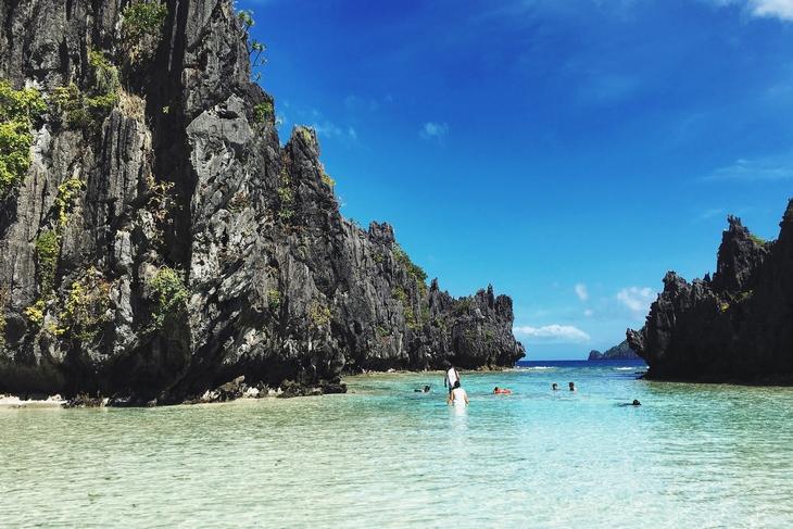 חופים מומלצים בפיליפינים: החוף הנסתר