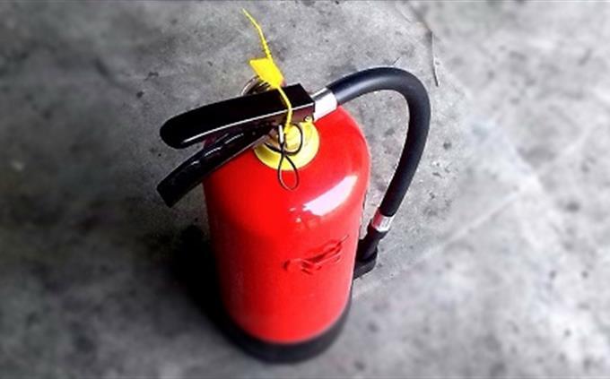 מבחן עברית: מכשיר לכיבוי שריפות
