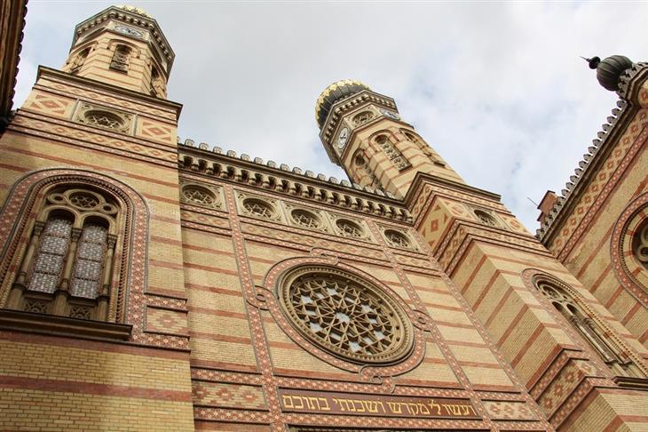 מסלול טיולים של שבוע בהונגריה: בית הכנסת הגדול של בודפשט