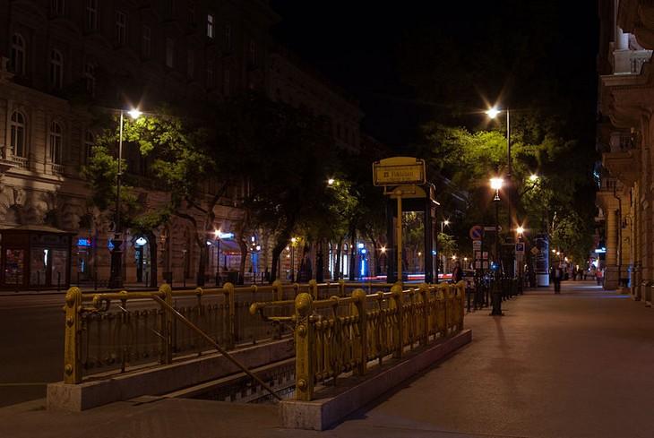 מרכזי קניות מומלצים באירופה: שדרת אנדראשי, בודפשט, הונגריה