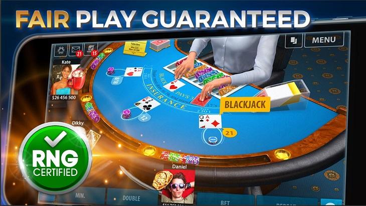 אפליקציות משחקי קלפים: צילום של המשחק Blackjack 21: Blackjackist