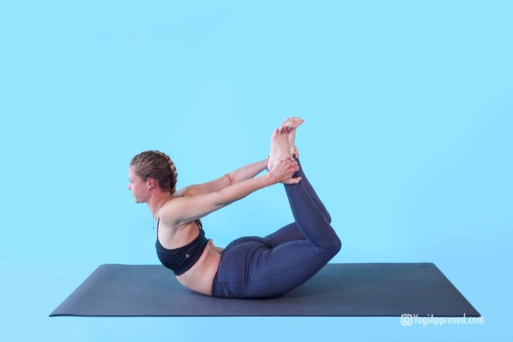 תרגילי יוגה לשיפור היציבה: קשת