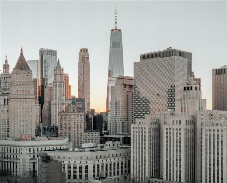 צילום עירוני: גורדי שחקים בניו יורק
