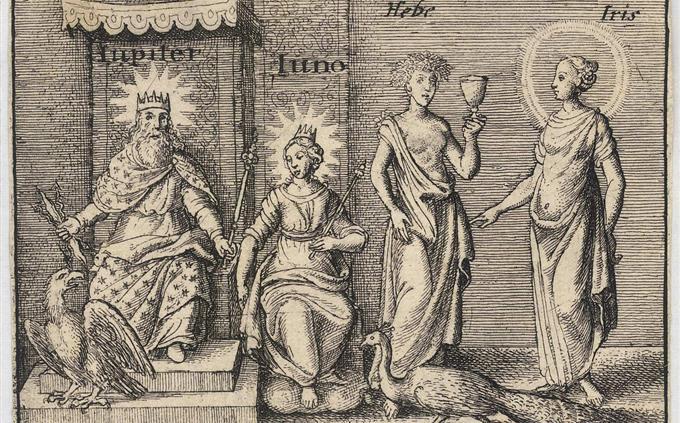 טריוויה: איור של אלים יווניים