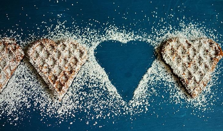 תזונה ללא סוכר: ופל עם סוכר