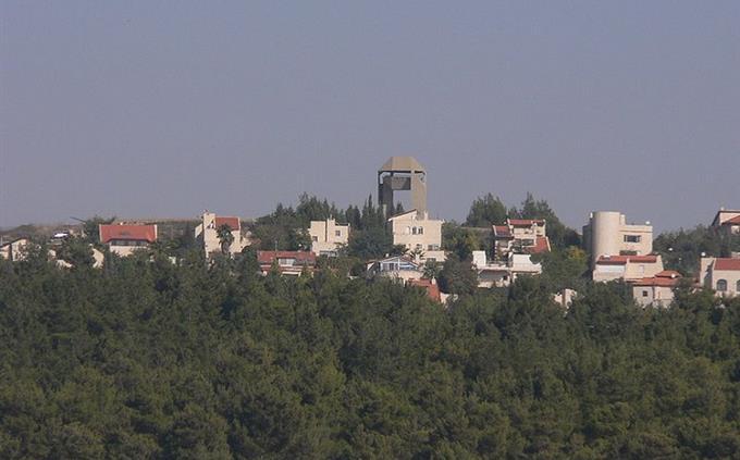 חידון שמות יישובים בארץ: צילום מרחוק של הר אדר