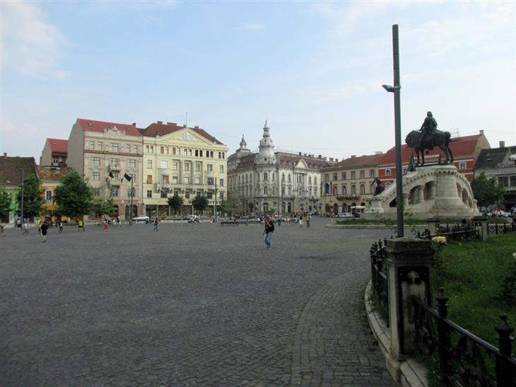 אתרים ואטרקציות בקלוז-נאפוקה: כיכר האיחוד