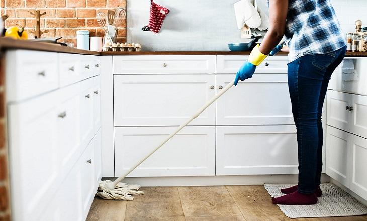 ניקיון הבית לפסח: ניקוי הבית