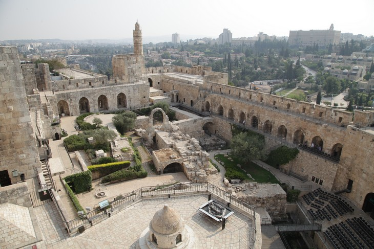 אירועי פסח חינמיים: תצפית עילית על מגדל דוד