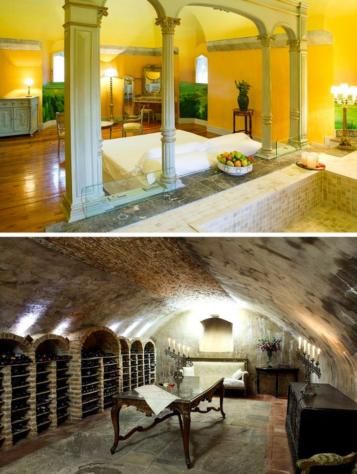 מלונות מיוחדים מסביב לעולם: מלון קסטילו דה ארטאגה