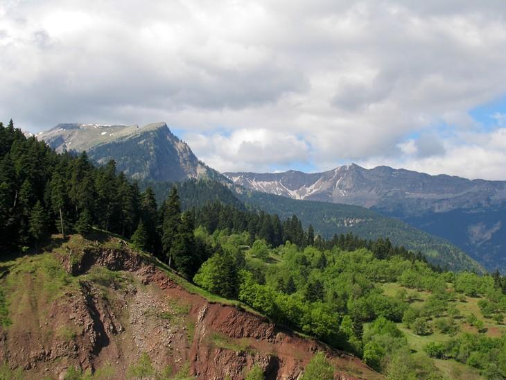 אתרים בצפון יוון: פסגות הרים בפארק הלאומי פינדוס