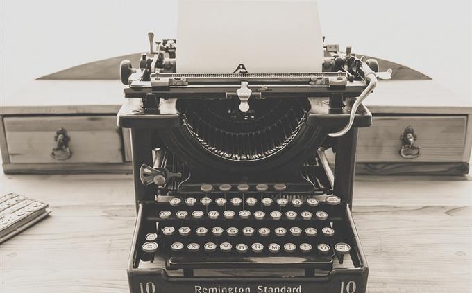 מבחן טריוויה: מכונת כתיבה