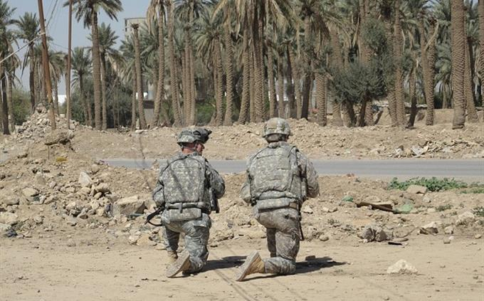 מבחן ידע כללי: חיילים אמריקאיים בעירק