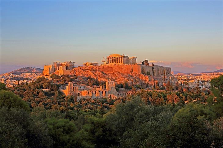 מקומות מדהימים בעולם: האקרופוליס באתונה, יוון