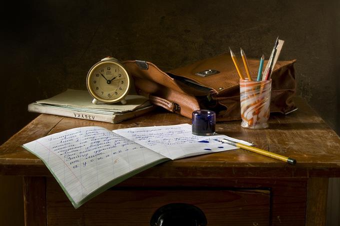 מבחן אישיות: ציוד של תלמידים