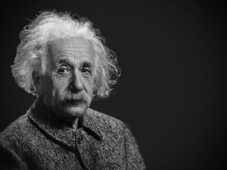 בדיחה על אלברט איינשטיין: אלברט איינשטיין
