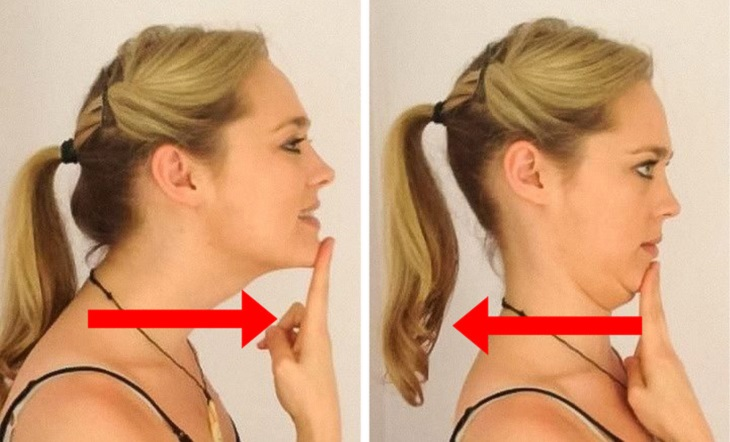 סדרת תרגילים לשחרור צוואר: תרגיל לשיפור יציבת הראש
