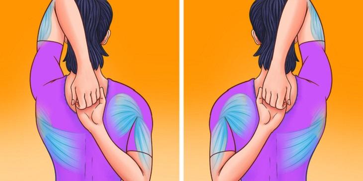 סדרת תרגילים לשחרור צוואר: תרגיל לשיפור תנועתיות הכתפיים