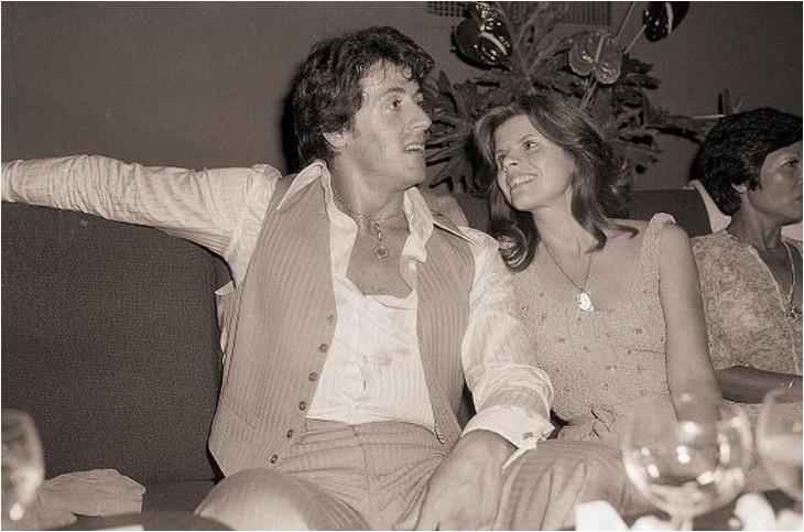 תמונות ממועדון סטודיו 54: סילבסטר סטאלון יחד עם אשתו הראשונה סשה צ'אק
