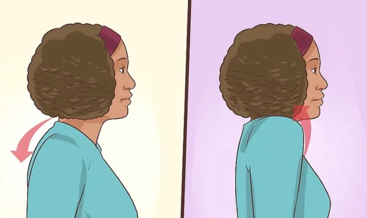 סדרת תרגילים לשחרור צוואר: תרגיל להגברת זרימת הדם לצוואר