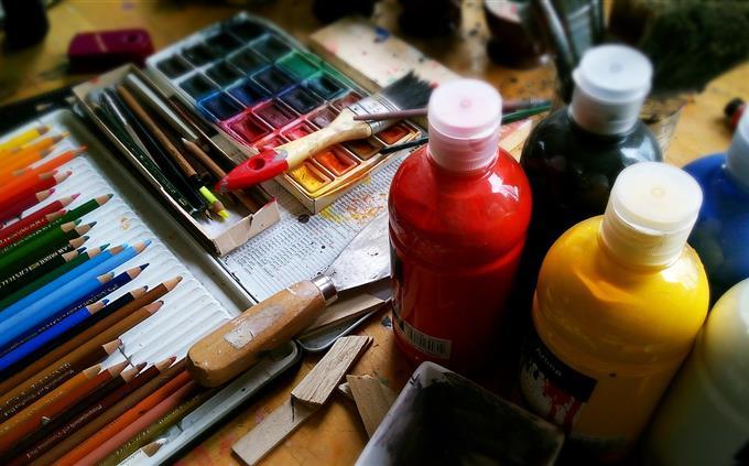 טריוויה: ציוד לציור
